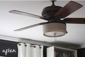 ceiling fan light shades fabric