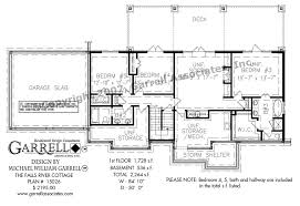 How To Design Basement Floor Plan Classy Falls River Cottage Cabin House Plans