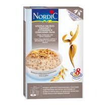 <b>Хлопья Nordic</b> овсяное-<b>ржаные</b> с отрубями и семенами льна ...