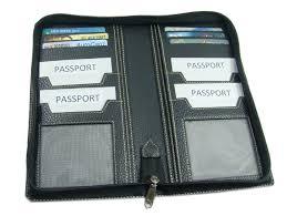 essart pu leather family passport holder for 4 passport 200291 2000291