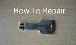 how to repair pen drive