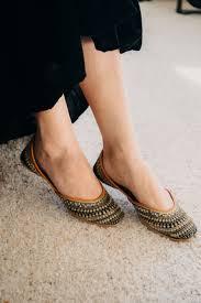 Designer Black Flats Snow Drops Indian Shoes Shoes Flats Sandals Footwear