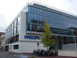 the headquarters of philips france in suresnes