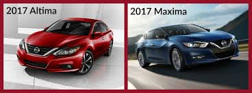 Nissan Altima Comparison Chart Difference Between The Nissan Altima And Maxima