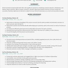 Bank Teller Resume Sample New Bank Teller Job Description Resume