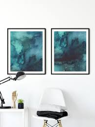 teal wall art turquoise wall art teal