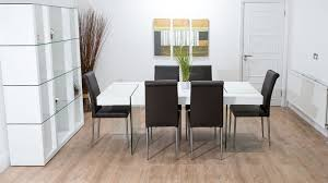 dining table 10 chairs. brown and white floating dining set table 10 chairs