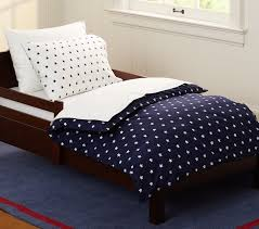 star toddler duvet cover navy