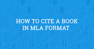 How To Cite A Book In Mla Format 2019 Guide
