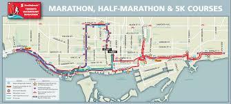Toronto Waterfront Marathon Elevation Chart Scotiabank Toronto Waterfront Marathon Oct 18 2020