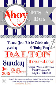Ahoy! It's A Boy! Nautical Baby Shower #OrientalTrading - We Got The ...