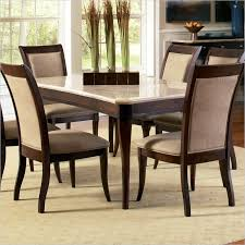lowest on all steve silver pany mille marble top dining table in cherry ms850wt