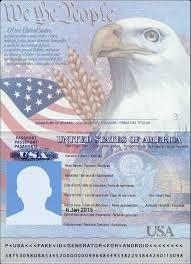 Online 2019 Fake In Food Passport International Festival Passport Template