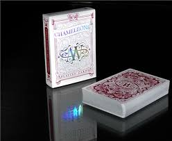expert playing card company. Perfect Card Chameleon Playing Cards Red  Magic In Expert Card Company A