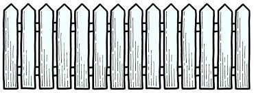 picket fence drawing. Picket Fence Cliparts Drawing
