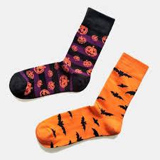 halloween <b>couple socks</b> cotton pumpkin tube <b>socks</b> at Banggood