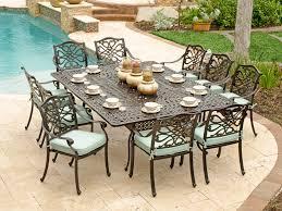 aluminum patio dining