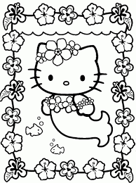 Printable Coloring Pages For Girls Hello Kitty Papers And Essays