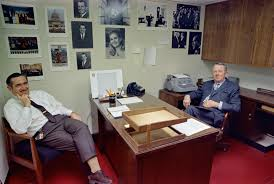 nixon office. Office Manager Buck May, Sitting In The White House Photo Office. Various Portraits And Moments Of President Nixon, Family Members, Inauguration, Nixon F