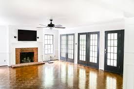 Makeover Living Room Living Room Makeover High Contrast Paint Blesser House