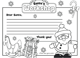 Santa Claus Printables Coloring Coloring Activity Children With Presents Christmas Tree