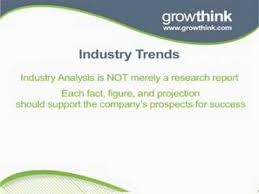 industry analysis template writing the industry analysis section of your business plan youtube