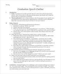 Graduation Speech Examples Gorgeous 48 Graduation Speech Examples Samples PDF