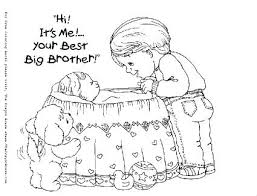 New Baby Sister Coloring Pages New Baby Coloring Pages To Print