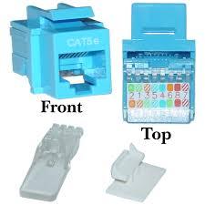 blue cat5e rj45 keystone jack, toolless cat5e keystone jack wiring diagram at Cat5e Keystone Jack Wiring Diagram