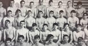 College swim team naked