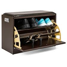 shoe storage ottoman bench. Best Choice Products Leather Ottoman Bench Shoe Rack WSide Compartment Door Shelves In Storage