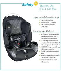 safety 1st 3 in 1 elite air car seat multifit in1 costco
