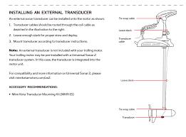 How Do I Install A Humminbird Trolling Motor Transducer On