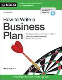 How To Write A Business Plan Legal Book Nolo