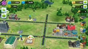 expansion is regulated by the player s level as is typical of most free to play building games