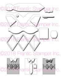 Frantic Stamper Precision Die Shirt Card Maker