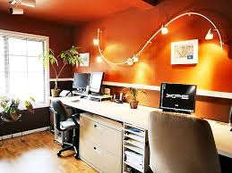 orange office furniture. Beautiful Home Office For A Delight Work: Furniture Ideas Orange