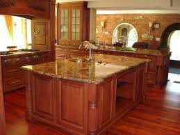 Granite Kitchen Floors Kitchen Countertops For Brown Floors Deluxe Home Design