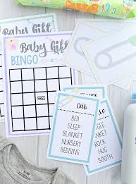 Free Printable Baby Shower Games for Large Groups – Fun-Squared