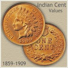 Wheat Penny Value Chart 1800 To 1959 Value Of An Indian Penny
