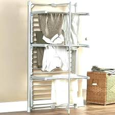 drying rack indoor outdoor with optional wall mount accordion hooks accordian