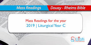 Daily Mass Readings 2019 Catholic Gallery