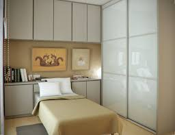 Small Bedroom Interior Design Bedroom Awesome White Brown Wood Glass Unique Design Space