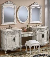 makeup bathroom vanity inch double vanities make up stool retro renovation  cabinets with table
