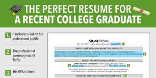 11 12 Resumes For College Grads Scbots Com