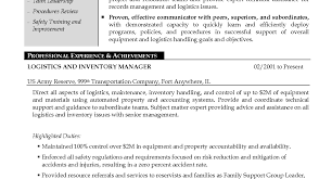Military Job For Resume Military Cv Examples And Template Resume