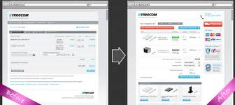shopping cart web before and after shopping cart optimisation design bex white design