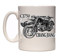 cj750 chang jiang sidecar mug cup