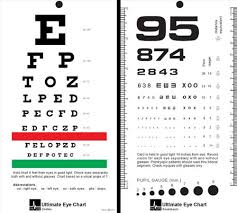 Standard Eye Test Chart Printable Mccoy Ultimate Rosenbaum Snellen Pocket Eye Chart