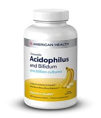 Buy American Health, <b>Chewable Acidophilus and Bifidum</b>, Natural ...